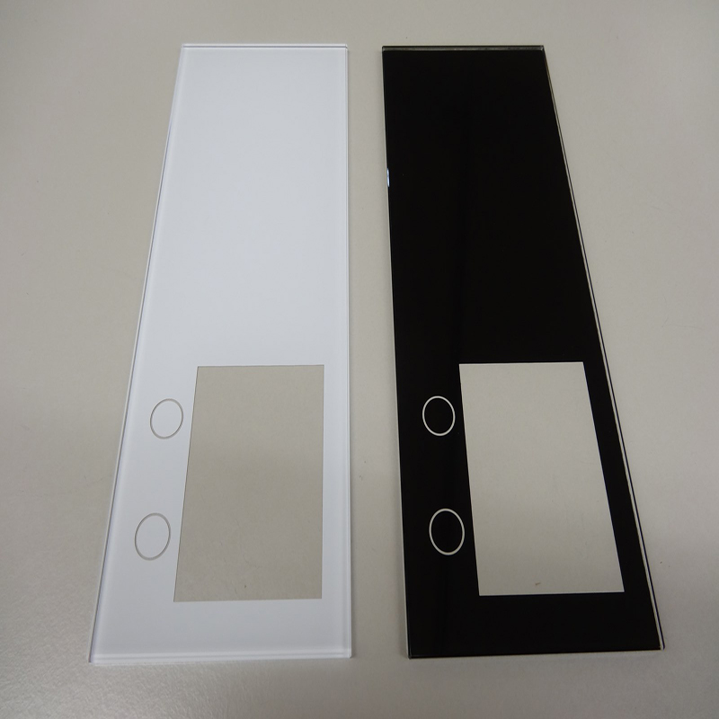 elevator landing operation panel LOP customized glass for touch panel