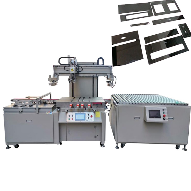 household appliance glass screen printing machine
