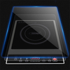 Heat resistant glass white black ceramic glass for induction cooker